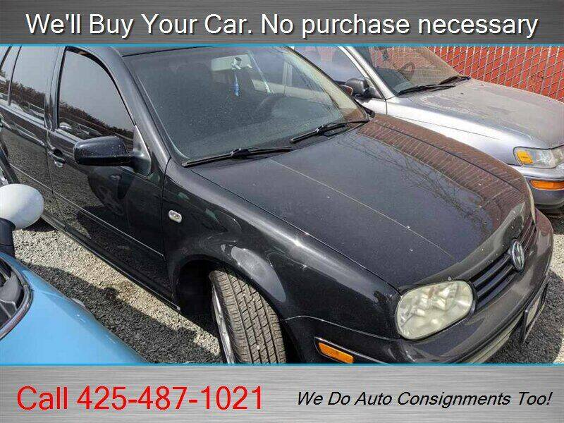 2004 Volkswagen Golf for sale at Platinum Autos in Woodinville WA