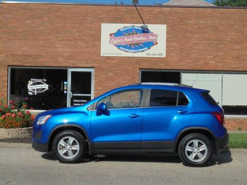 2016 Chevrolet Trax for sale at Eyler Auto Center Inc. in Rushville IL