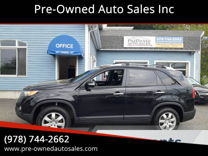 2011 Kia Sorento for sale at Pre-Owned Auto Sales Inc in Salem MA