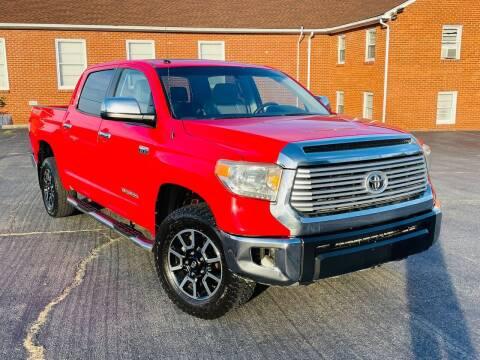 2014 Toyota Tundra for sale at ANZ AUTO CONCEPTS LLC in Fredericksburg VA