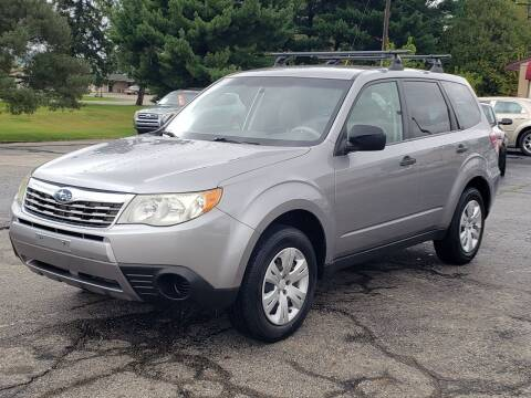 2010 Subaru Forester for sale at Thompson Motors in Lapeer MI