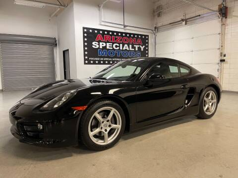 2014 Porsche Cayman for sale at Arizona Specialty Motors in Tempe AZ