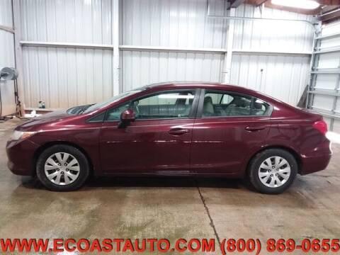 2012 Honda Civic for sale at East Coast Auto Source Inc. in Bedford VA