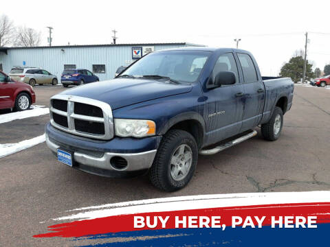 2004 Dodge Ram Pickup 1500 for sale at Dakota Cars and Credit LLC in Sioux Falls SD