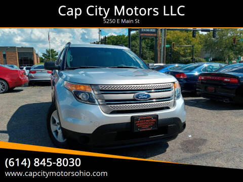 2013 Ford Explorer for sale at Cap City Motors LLC in Columbus OH