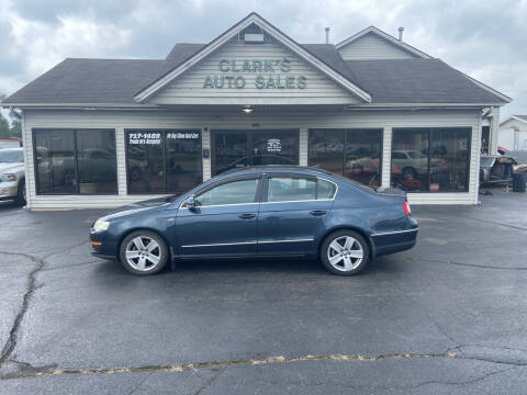 2007 Volkswagen Passat for sale at Clarks Auto Sales in Middletown OH