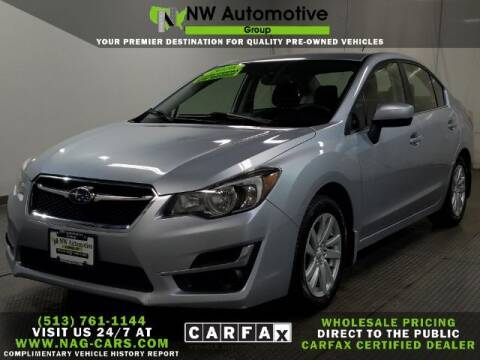 2016 Subaru Impreza for sale at NW Automotive Group in Cincinnati OH