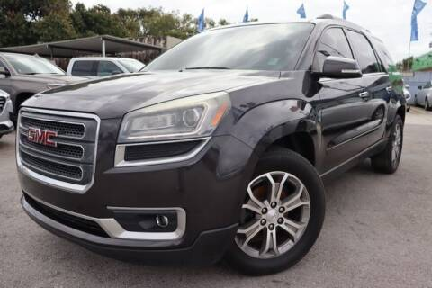 2014 GMC Acadia for sale at OCEAN AUTO SALES in Miami FL