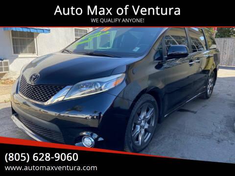 2017 Toyota Sienna for sale at Auto Max of Ventura - Automax 3 in Ventura CA
