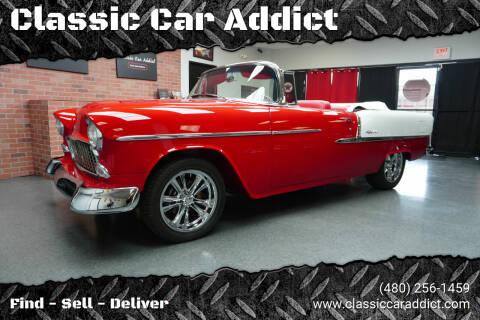1955 Chevrolet Bel Air for sale at Classic Car Addict in Mesa AZ