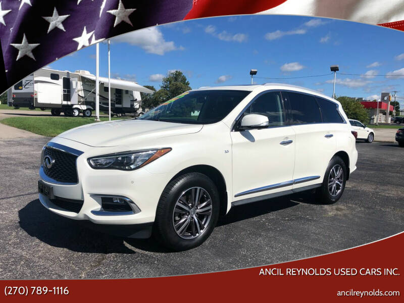 2017 Infiniti QX60 for sale at Ancil Reynolds Used Cars Inc. in Campbellsville KY