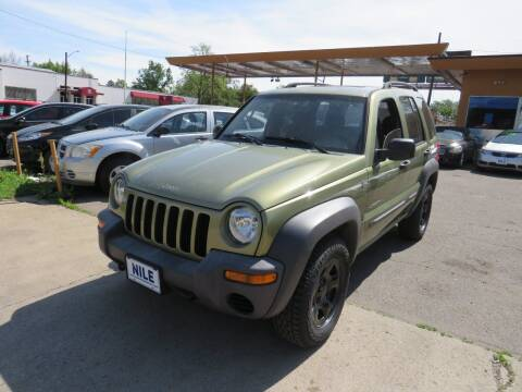 2004 Jeep Liberty for sale at Nile Auto Sales in Denver CO
