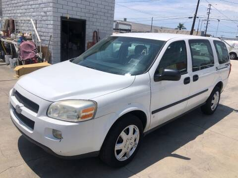 2008 Chevrolet Uplander for sale at OCEAN IMPORTS in Midway City CA