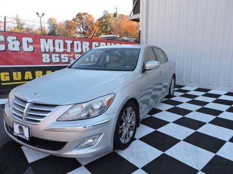 2013 Hyundai Genesis for sale at C & C Motor Co. in Knoxville TN