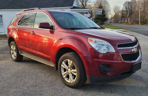 2010 Chevrolet Equinox for sale at JR AUTO SALES in Candia NH