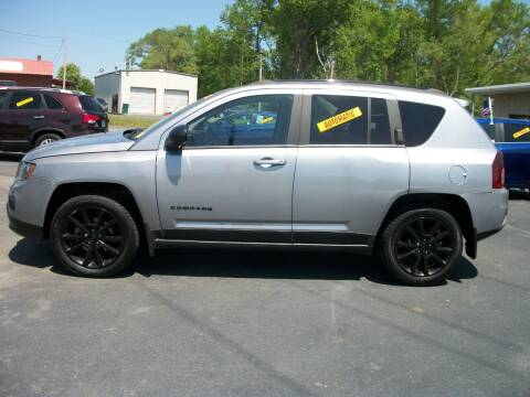 2015 Jeep Compass for sale at Lentz's Auto Sales in Albemarle NC