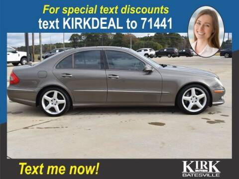 2009 Mercedes-Benz E-Class for sale at Kirk Brothers Batesville in Batesville MS