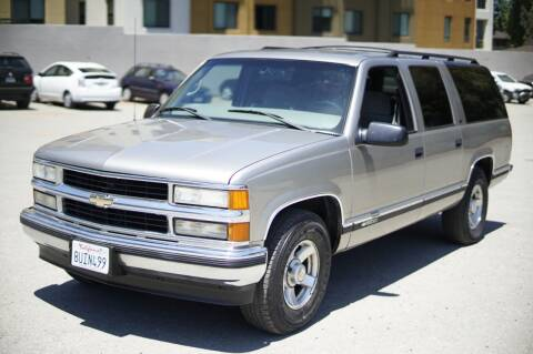 1999 Chevrolet Suburban for sale at Sports Plus Motor Group LLC in Sunnyvale CA