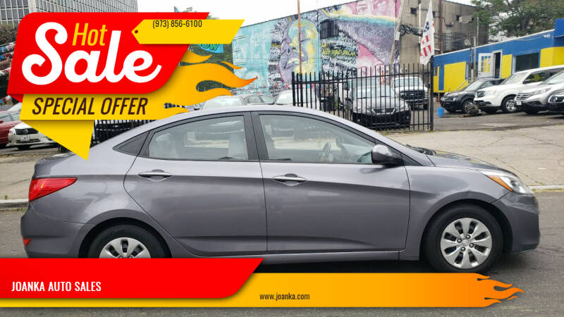 2016 Hyundai Accent for sale at JOANKA AUTO SALES in Newark NJ