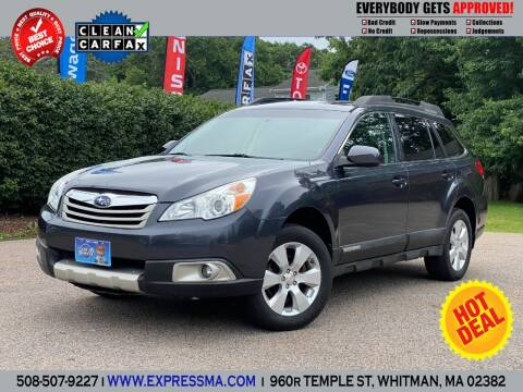2010 Subaru Outback for sale at Auto Sales Express in Whitman MA