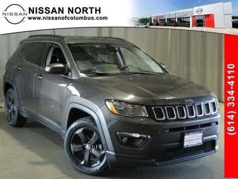 2018 Jeep Compass for sale at Auto Center of Columbus in Columbus OH