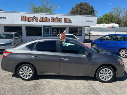 2015 Nissan Sentra for sale at Moye's Auto Sales Inc. in Leesburg FL