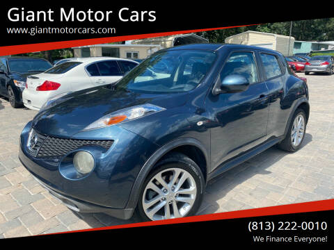 2014 Nissan JUKE for sale at Giant Motor Cars in Tampa FL