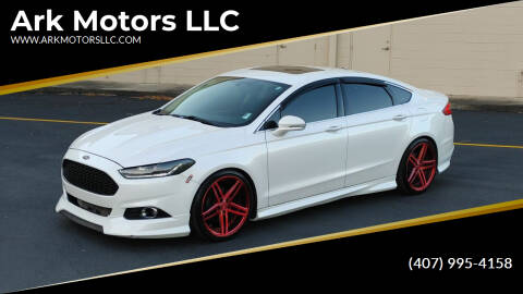 2014 Ford Fusion for sale at Ark Motors LLC in Winter Springs FL