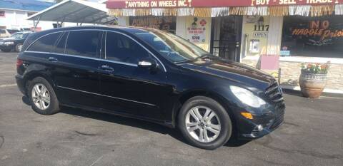 2009 Mercedes-Benz R-Class for sale at ANYTHING ON WHEELS INC in Deland FL