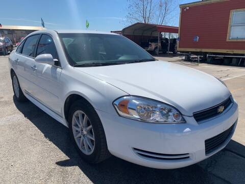 2013 Chevrolet Impala for sale at JAVY AUTO SALES in Houston TX