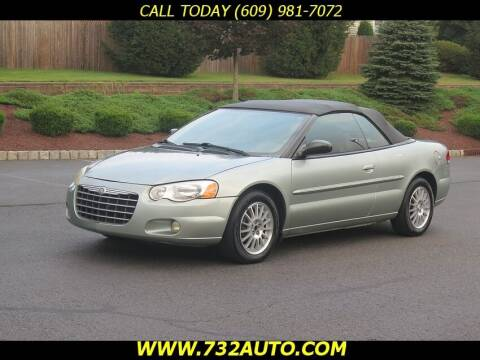 2005 Chrysler Sebring for sale at Absolute Auto Solutions in Hamilton NJ