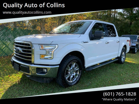 2015 Ford F-150 for sale at Quality Auto of Collins in Collins MS