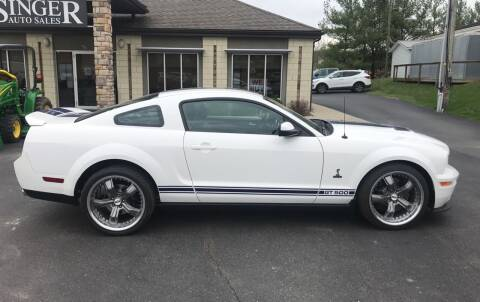 2007 Ford Shelby GT500 for sale at Singer Auto Sales in Caldwell OH