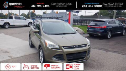 2013 Ford Escape for sale at Quattro Motors 2 - 1 in Redford MI