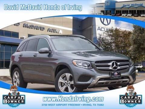 2018 Mercedes-Benz GLC for sale at DAVID McDAVID HONDA OF IRVING in Irving TX