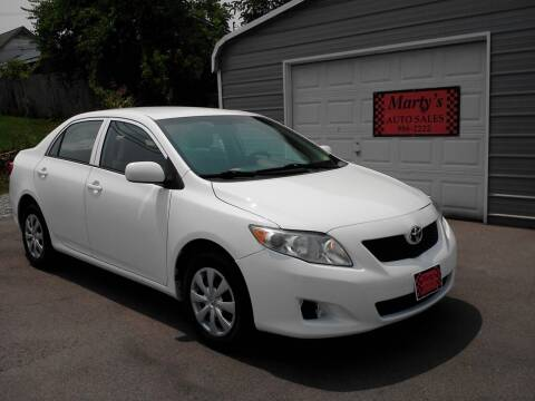 2010 Toyota Corolla for sale at Marty's Auto Sales in Lenoir City TN