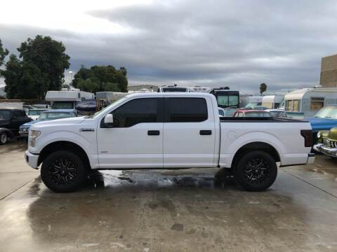 2015 Ford F-150 for sale at HIGH-LINE MOTOR SPORTS in Brea CA