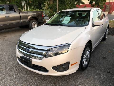 2012 Ford Fusion for sale at Barga Motors in Tewksbury MA