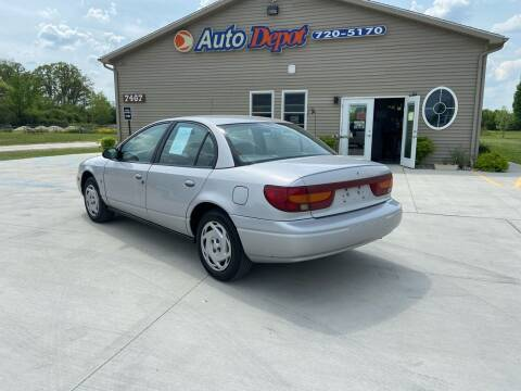 2000 Saturn S-Series for sale at The Auto Depot in Mount Morris MI