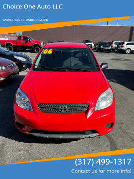 2006 Toyota Matrix for sale at Choice One Auto LLC in Beech Grove IN