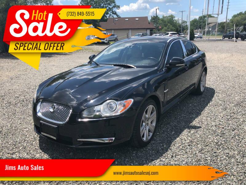 2010 Jaguar XF for sale at Jims Auto Sales in Lakehurst NJ