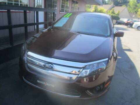 2011 Ford Fusion for sale at Quick Auto Sales in Modesto CA
