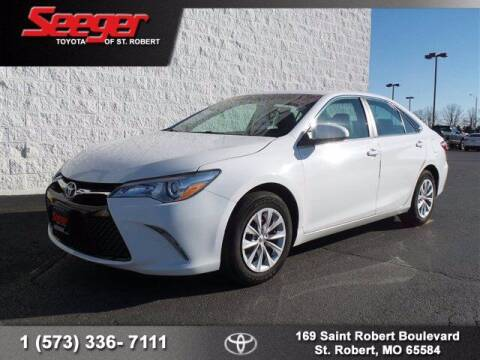 2017 Toyota Camry for sale at SEEGER TOYOTA OF ST ROBERT in St Robert MO