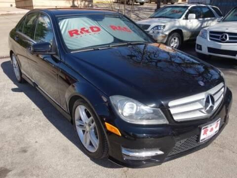 2013 Mercedes-Benz C-Class for sale at R & D Motors in Austin TX
