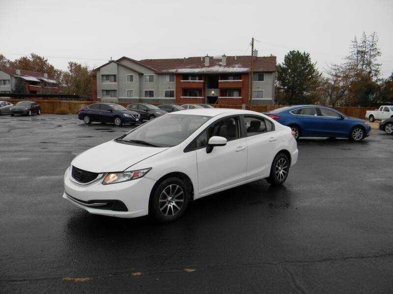 2014 Honda Civic for sale at INVICTUS MOTOR COMPANY in West Valley City UT
