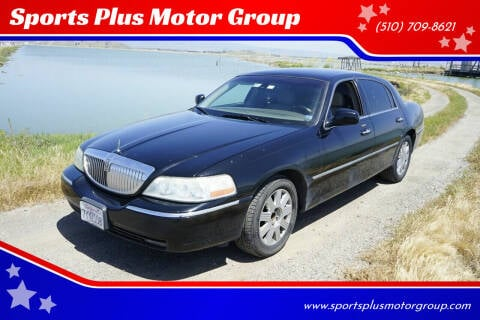 2003 Lincoln Town Car for sale at Sports Plus Motor Group LLC in Sunnyvale CA