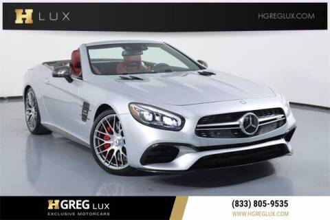 2017 Mercedes-Benz SL-Class for sale at HGREG LUX EXCLUSIVE MOTORCARS in Pompano Beach FL