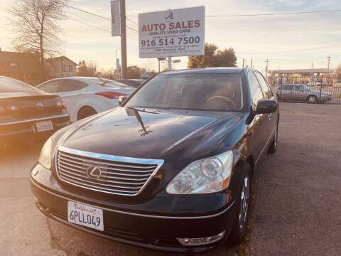 2004 Lexus LS 430 for sale at A1 Auto Sales in Sacramento CA