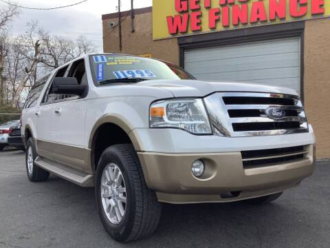 2011 Ford Expedition EL for sale at Active Auto Sales Inc in Philadelphia PA