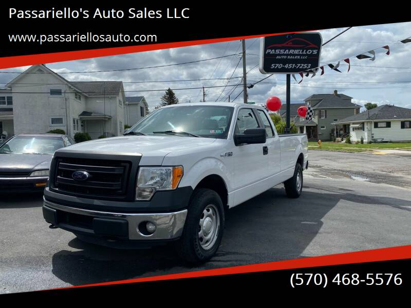 2014 Ford F-150 for sale at Passariello's Auto Sales LLC in Old Forge PA